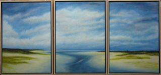 To the Sea II - Triptych